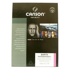 Canson Baryta Photographique 310gsm A3 25 Sheets