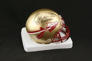 Charlie Ward SIGNED Florida State Mini Helmet + 93 Heisman PSA/DNA AUTOGRAPHED