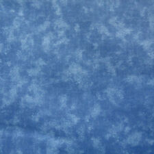 One Yard Cotton Quilt Fabric BLENDER 0207 Delft Blue MOTTLED Tonal cotton BTY