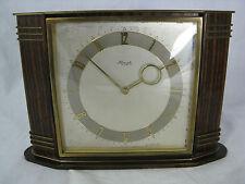 Beautiful Heinrich Möller Art Deco Design Kienzle table clock schöne Tisch Uhr