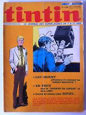"""Tintin  N°1208 du 23/12/1972;  """"Dossier du cirque"""""""