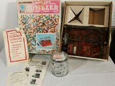 Thumler's Tumbler Model A Rock Tumbler Original- With Accessories- Tested Works