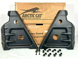 Genuine Arctic Cat 12-16 Wildcat OEM Front A-arm Guards 1436-663 NOS New