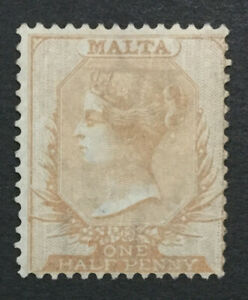 MOMEN: MALTA SG #4 1863 UNUSED LOT #194333-2860