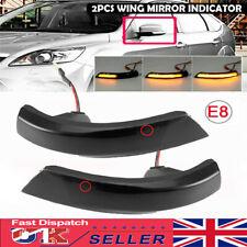 For Ford Focus Mk2 Mk3 Mk4 Mondeo Dynamic LED Turn Signal Mirror Light Indicator