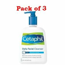 Cetaphil Gentle Skin Cleanser, For all skin types, 16-Ounce Bottles (Pack of 3)