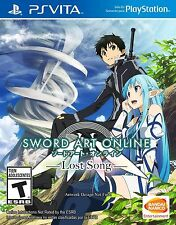 Sony PlayStation Vita Game Sword Art Online Lost Song US Boxed