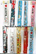 5x Australian Souvenir Ruler Pencil Eraser Sharpener - Kangaroo Koala Sydney