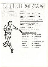 DDR-Bezirksliga 87/88 TSG Elsterwerda 74 - ASG Vorwärts Cottbus-Süd, 21.11.1987