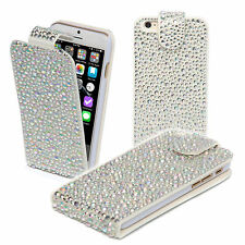 """Bling 3D Sparkle Diamond Flip Leather Wallet Case Cover for Apple iPhone 6 4.7"""""""