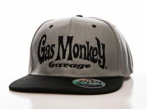 Officially Licensed Gas Monkey Garage Logo Adjustable Size Snapback Cap