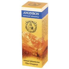 ANGINBON spray gardło chrypka pleśniawki opryszczka hoarseness throat herpes