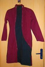 Manteau PYGMEES - PERLIMPINPIN bordeaux et noir roots baba lutin  quasi neuf  XS
