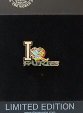 DISNEY SHOPPING I LOVE FAIRIES TINKER BELL & BECK FROM PETER PAN LE 500 PIN