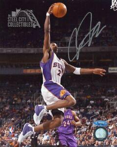 Joe Johnson Autographed Phoenix Suns 8x10 Photo - BAS COA