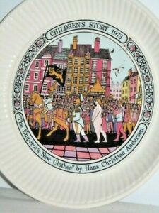 Wedgwood England Children's Story 1973 The Emperor's New Clothes Plate 15.5cm W