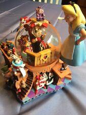 Disney Alice in Wonderland 50th Anniversary Snowglobe