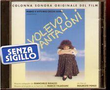 """COLONNA SONORA ORIGINALE DEL FILM """" VOLEVO I PANTALONI """" CD NUOVO 1990 POLYGRAM"""