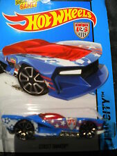 Hot Wheels Street Shaker  Blue  MOMC