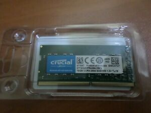 NEW 16GB Crucial PC4-21300 DDR4-2666 Laptop RAM Memory SO-DIMM PC CL19