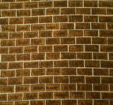 Quilting Naturals Bty Kensington Quilting Treasures Brown Brick Wall
