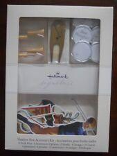 Hallmark Signature Series Golfing Accessory Kit Shadow Memory Box Scrapbook Golf