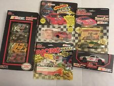 Assorted Lot Of 5 Nascar Replica Cars Racing Champions 1:64 1:43 Scale Collector