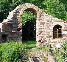 0,5 qm Trockenmauersteine Natursteine Buntsandsteine Garten Ruine Weinbergmauer