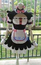 Nekopara Chocola maid Cosplay Costume custom any size