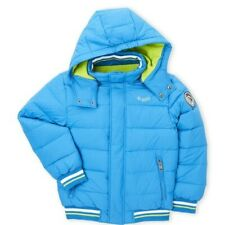 Diesel Boys Down Bubble Blue Jacket Size 14/16