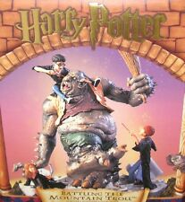 ✨New! (Vintage) Harry Potter BATTLING THE MOUNTAIN TROLL Limited Edition 1/5000