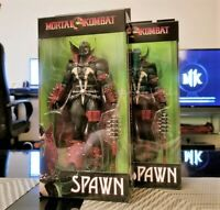 """Mortal Kombat Series 2 SPAWN with MACE 7"""" Action Figure IN STOCK !"""