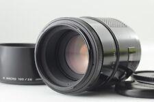 """Excellent+++++"" MINOLTA AF 100mm f2.8 MACRO Lens w/Hood from JAPAN #1778"