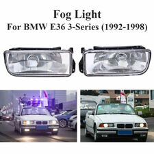 2pcs/Set Car Front Fog Lights For BMW E36 M3 3-Series 318i 1992-1998 Bumper Lamp
