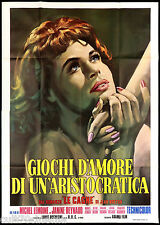 GIOCHI D'AMORE DI UN'ARISTOCRATICA MANIFESTO CINEMA FILM 1973 MOVIE POSTER 4F