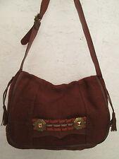 Magnifique sac cartable   A4  cuir ANGIE  TBEG  bag vintage à saisir
