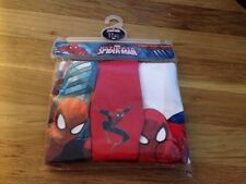 Marvel The Ultimate Spider-Man Multi-Color Baby Underwear Size 2-3 Boys Trunks