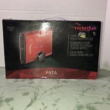 Rocketfish RF-PHD35 PATA/ EIDE HDD Hard Drive Enclosure Kit USB One touch Backup