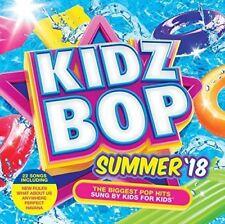 Kidzbop - Kidz Bop Summer 18  ** NEW CD **   22 Hits Sung by Kids for kids