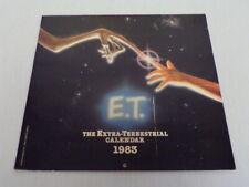 ORIGINAL Vintage Unused 1983 E.T. Extra Terrestrial Calendar