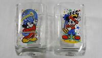 Walt Disney World McDonalds Mickey Mouse 2000 Celebration Square Glass Cup