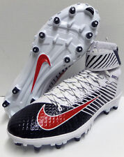 Nike Lunarbeast Elite TD PF Men's Football Cleats 847588-419 White Red Blue 11.5