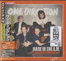 ONE DIRECTION-MADE IN THE A.M. DELUXE VER.-JAPAN CD Ltd/Ed F30
