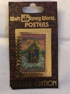 Walt Disney World Poster Splash Mountain Limited Edition Pin