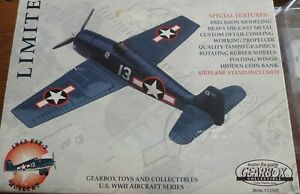 GEARBOX  COLLECTABLE  1943  F6F-3   HELLCAT    1:48 SCALE