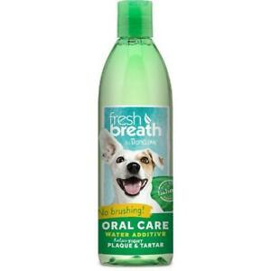 TropiClean Fresh Breath Oral Care Water Additive 473ml X 3 BOTTLES
