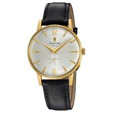 Reloj Festina Extra Hombre F20249/2 acero dorado y esfera gris