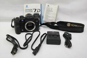 Konica Minolta MAXXUM 7D 6.1MP Digital SLR Camera Black Body Only  EL