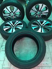 """4+1-Used- KIA SPORTAGE 2011-2015 18"""" OEM Wheels +Tires 235/55R18  (7k-mile)"""