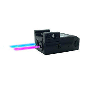 Low Profile Purple and Blue Duo Laser Sights Sub Compact Pistol USB Rechargeable